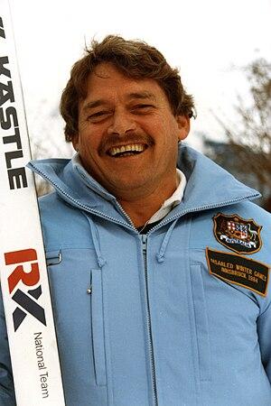 Australia at the 1984 Winter Paralympics - Australian Ron Finneran, Chef de Mission at the 1984 Winter Paralympics