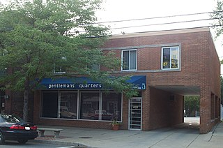 Woodland-Larchmere Commercial Historic District United States historic place