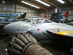 De Havilland Vampire T.11 WZ518, NELSAM, 27 June 2015 (1).JPG