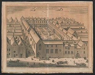 De cisterciënzer abdij Sint-Salvatoris te Antwerpen