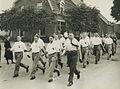 De groep van de Utrechtse Politie Sportclub onder leiding van de heer W. Faber o – F40679 – KNBLO.jpg