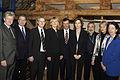 De nordiska samarbetsministrarna samlade innan motet i Kopenhamn 2005-03-01.jpg