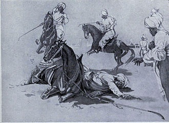 Qutb al-Din Aibak - Death of the slave king, Kutbuddin Aibak of Delhi, A.D. 1210