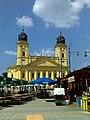 Debrecen 2010-08-02, Kossuth tér, a Református Nagytemplom. - panoramio.jpg