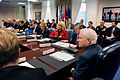 Defense.gov News Photo 110301-D-WQ296-033 - Secretary of Defense Robert M. Gates hosts a meeting of the Council of Governors in the Pentagon on March 1, 2011.jpg