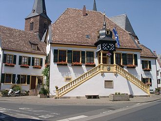 Deidesheim - Landmark: The Historic Town Hall