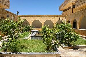 Deir ez-Zor Museum - Courtyard of the Deir ez-Zor Museum