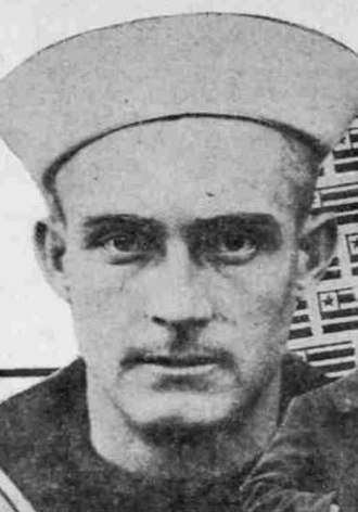 Del Baker - Baker in 1918 as a member of the United States Navy during World War I