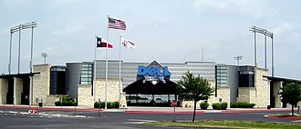 Dell - The company sponsors Dell Diamond, the home stadium of the Round Rock Express, the AAA minor league baseball affiliate of the Texas Rangers major league baseball team