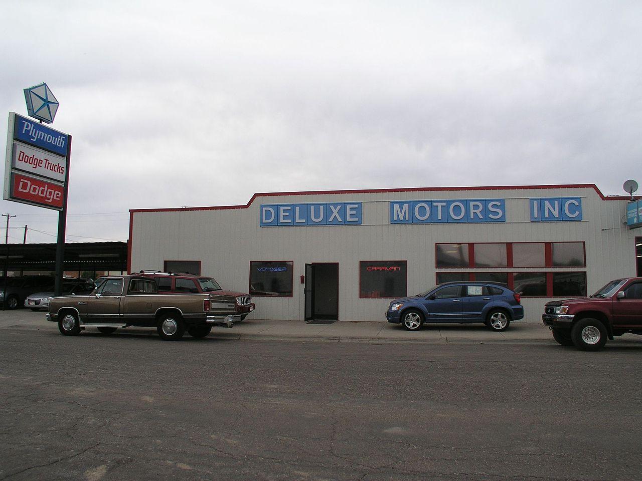 File Deluxe Motors Miles City 470235706 Jpg Wikimedia
