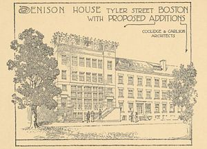 Denison House (Boston) - Illustration from the Denison House Annual Report for the Year Ending October 1st, 1913
