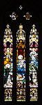 Derry St. Eugene's Cathedral North Aisle Window 4 St Dominic Receives the Rosary from the Virgin Mary 2013 09 17.jpg