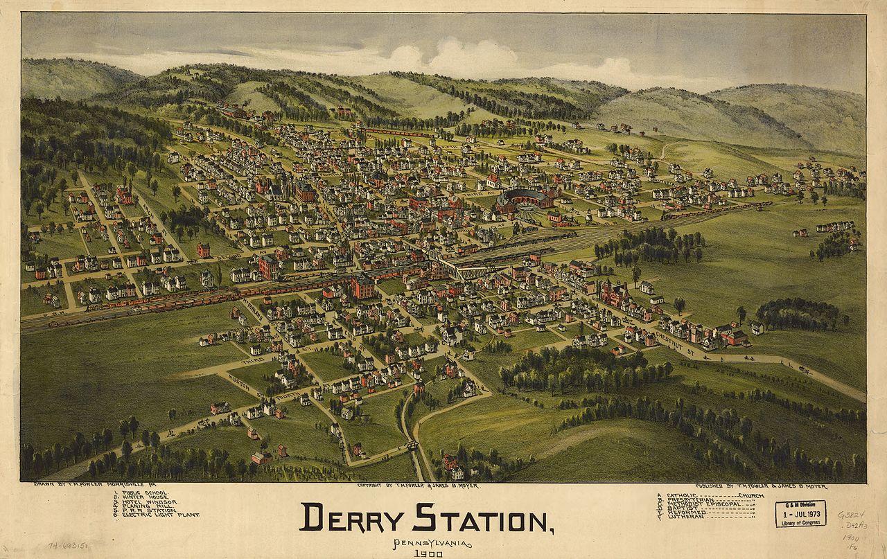 FileDerry Station PA 1900 BEye Viewjpg Wikimedia Commons