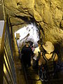 Descending into Hezekiah's Tunnel-A (3782602481).jpg