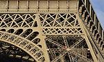 Details of Eiffel Tower structure, south pillar, 2014.jpg