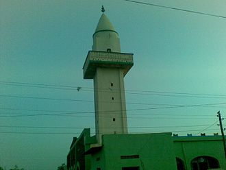 Islam in Ethiopia - A mosque in Degehabur.
