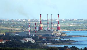 Dhekelia Power Station - Image: Dhekelia Power Station