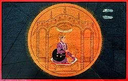 Dhruva as star from Bhagavata purana series by manaku.jpg