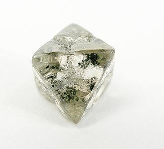 Argyle diamond mine - Uncut Diamond crystal from the Argyle mine, 4.27 carats