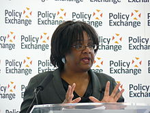Diane Abbott MP delivering her keynote speech 'Children and public health putting families at the heart of policy'.jpg