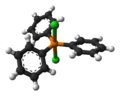 Dichlorotriphenylphosphine-molecular-from-xtal-1998-3D-balls.png
