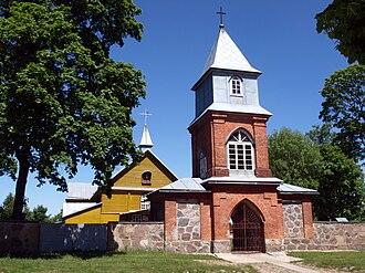 Dieveniškės - Image: Dieveniskes church