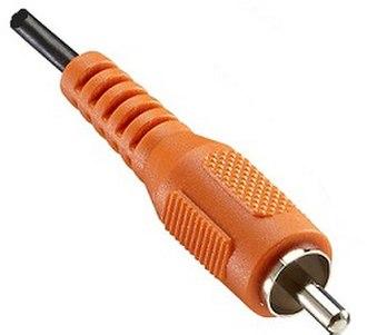 S/PDIF - Digital Audio Coaxial RCA connector (orange)