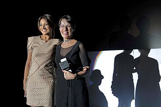 Dira Paes - Dira Paes and Ana de Hollanda in the 14th edition of the Tiradentes Film Festival.