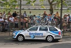 Discovery team car.jpg