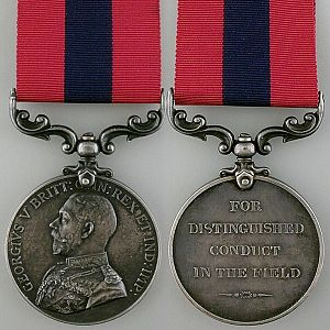 Distinguished Conduct Medal - King George V version 1
