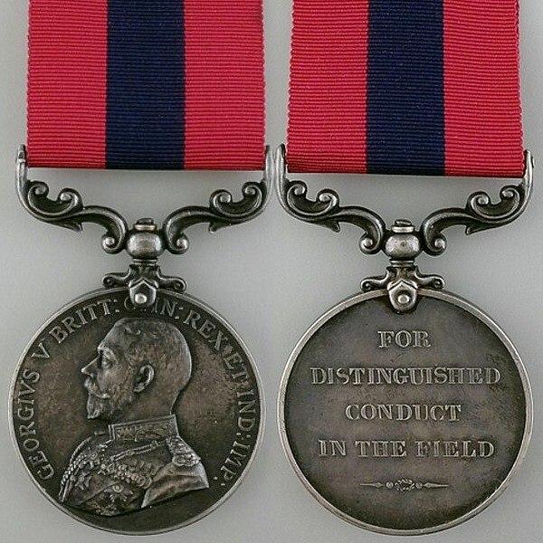 Distinguished Conduct Medal - George V v1