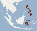 Distribution of Cheiromeles parvidens.png