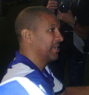 Djalminha Brazilian footballer