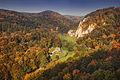 Dolina Prądnika jesienią, widok z Góry Okopy.jpg