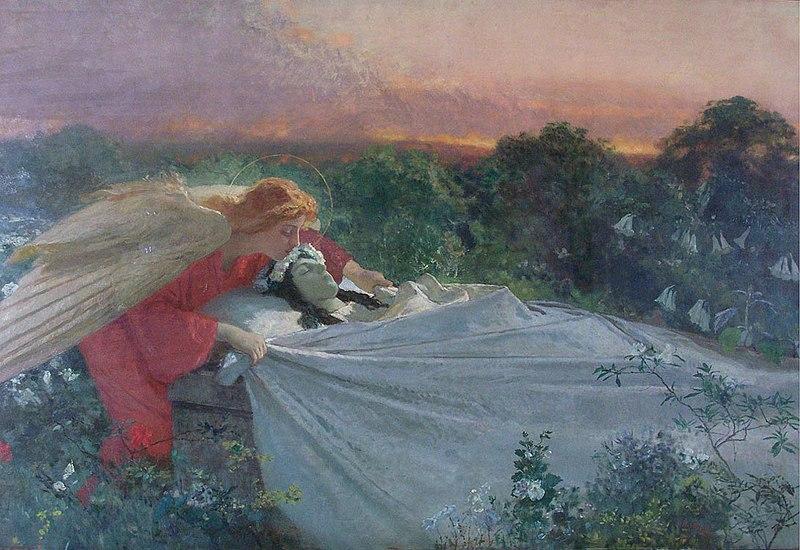 File:Domenico Morelli - El angel de la muerte.jpg
