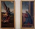 Domenico panetti, angelo annunciante e vergine annunciata, da s. andrea a ferrara.jpg