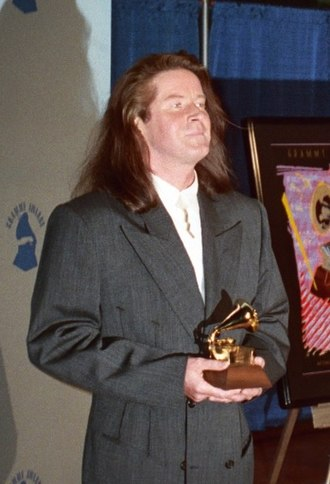 Don Henley - Henley receiving a Grammy in 1990