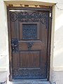 Door with letter box, 2 Kálvin street, 2018 Karcag.jpg