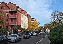 Saarbrückenstraße in Leipzig