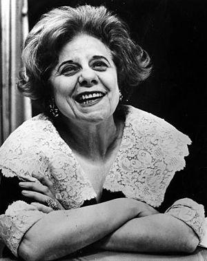Dorothy Fuldheim - Fuldheim in 1977