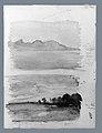 Double Study of Dawn, Moorea Seen across the Water, Tahiti MET ap67.55.176a, b.jpg
