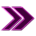Double arrow magenta neon right.png