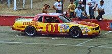 Ronnie Robbins Racing His Funny Car