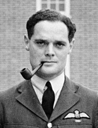 Douglas Bader - Squadron Leader Douglas Bader c.1940