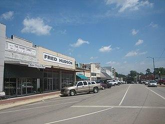 Center, Texas - Downtown Center, Texas