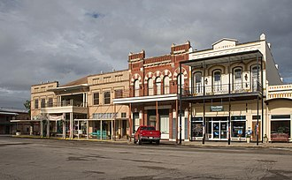 Goliad, Texas - Historic district of downtown Goliad, Texas