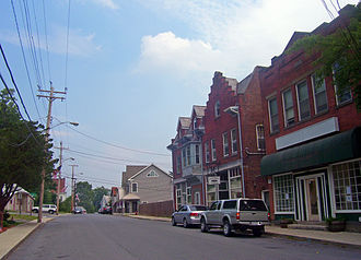 Milton, Ulster County, New York - Main Street