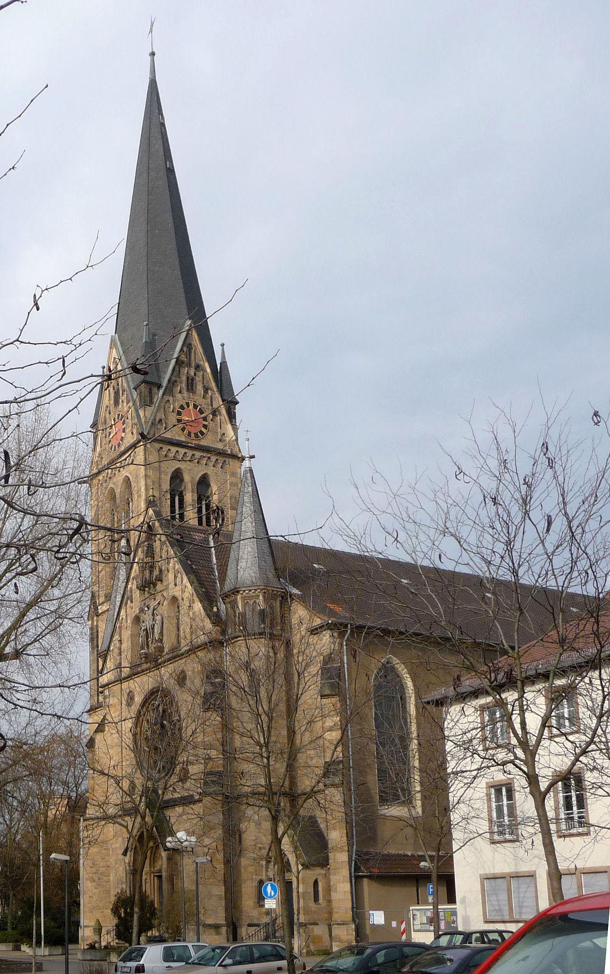 Dreifaltigkeitskirche (Ludwigshafen) - Wikipedia