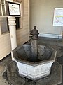 Drinking fountain in Mojiko Station.jpg