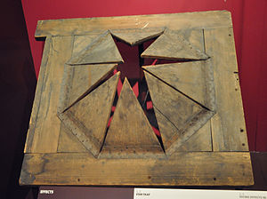 Trapdoor - 19th century Star trap from the Theatre Royal, Drury Lane, London, Now at the Victoria and Albert Museum